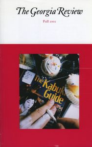 Cover of Fall 2002