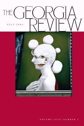 Georgia Review cover fall 04