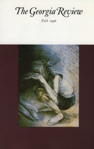 Cover of Fall 1996