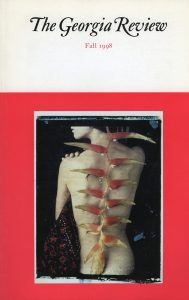 Cover of Fall 1998