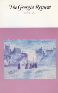 Cover of Spring 1984