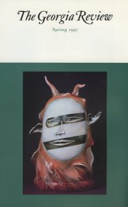 Cover of Spring 1997