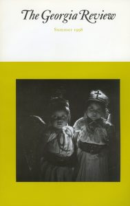 Cover of Summer 1998