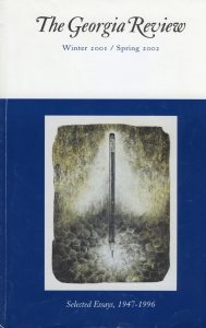 Cover of Winter 2001/Spring 2002