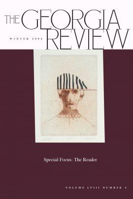 Georgia Review cover Winter 04