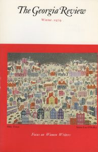Cover of Winter 1979