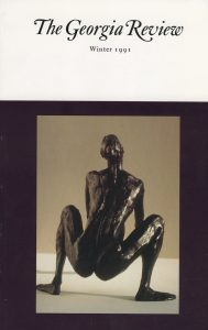 Cover of Winter 1991