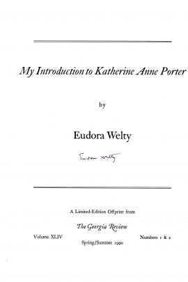 Welty Cover