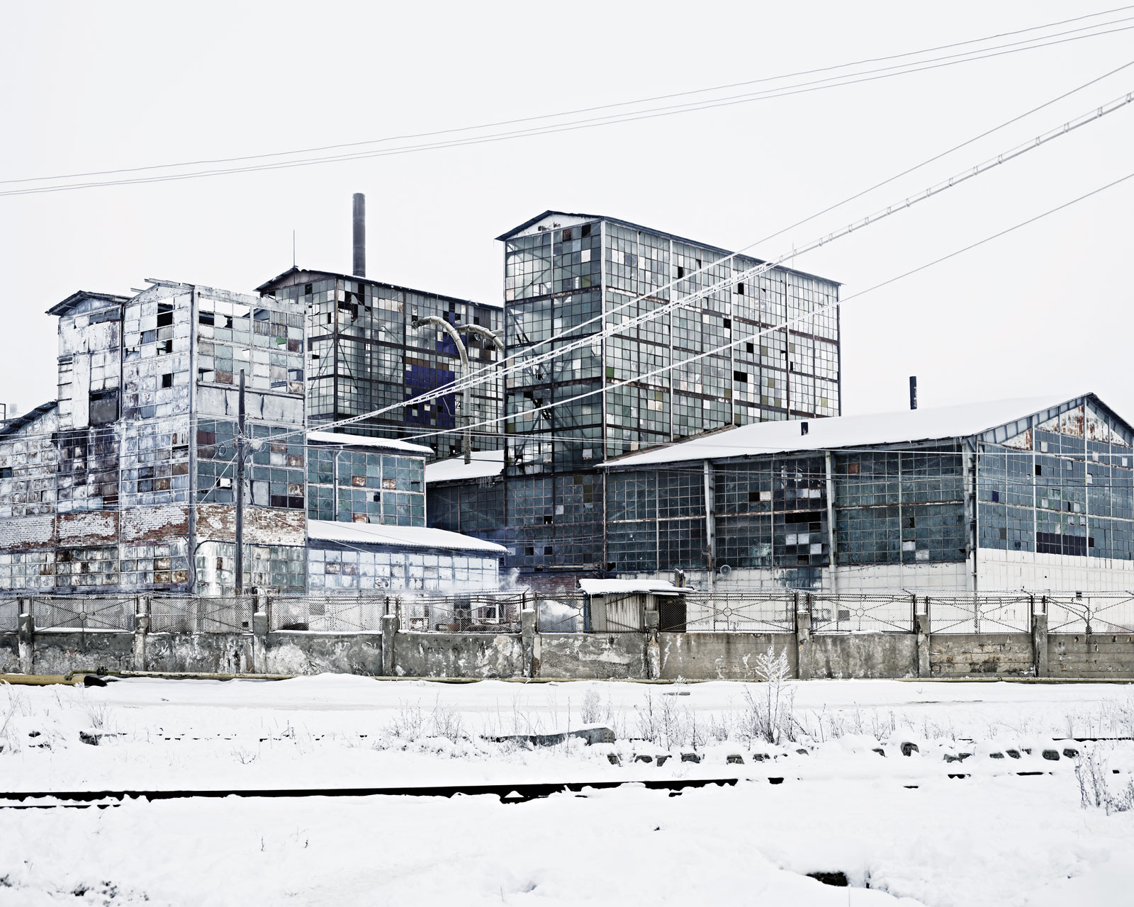 <i>Sodium Factory</i> (Ocna-Mures, Central Romania), 2012