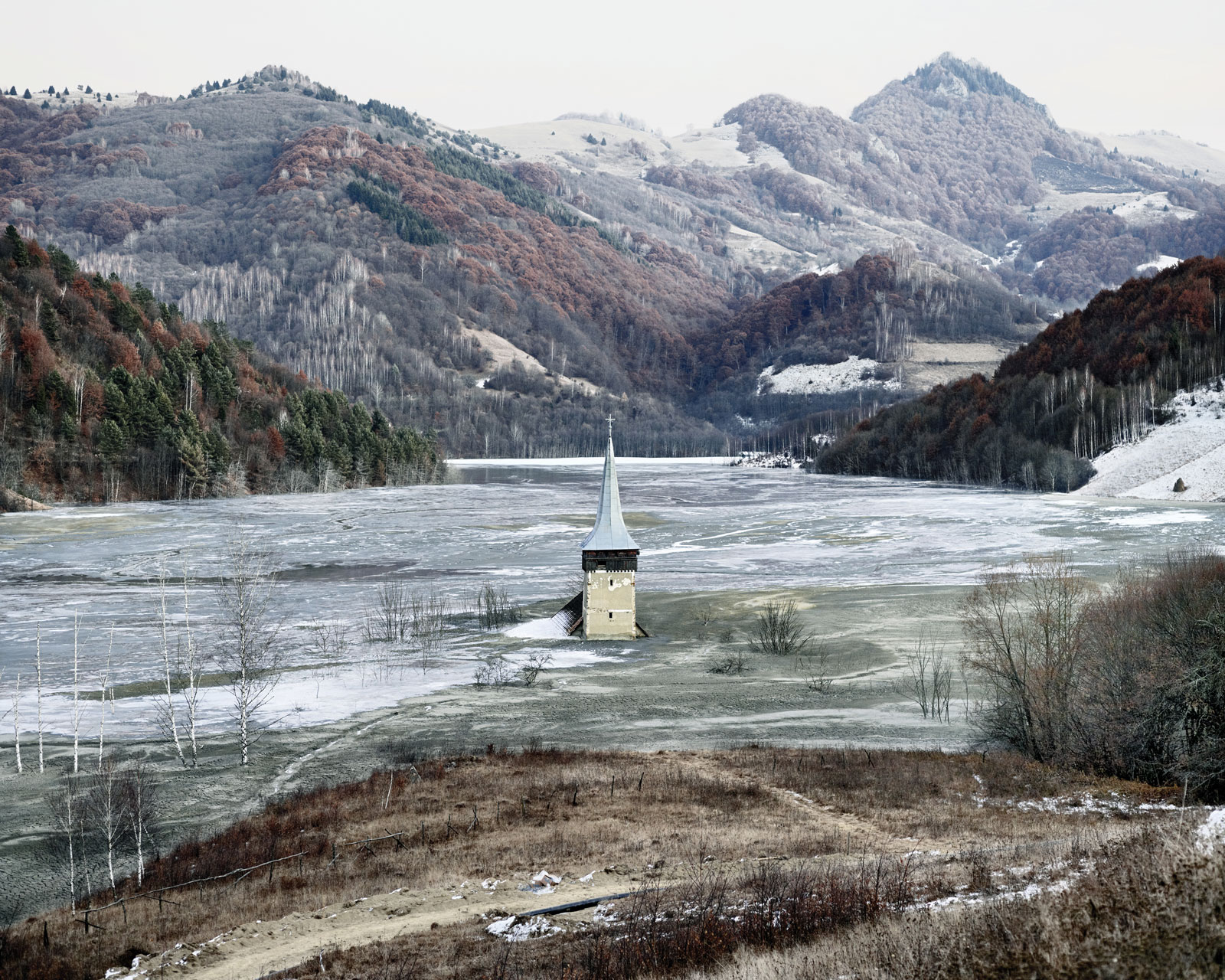 <i>The Flooded Village of Geamana</i> (Geamana, Central Romania), 2011