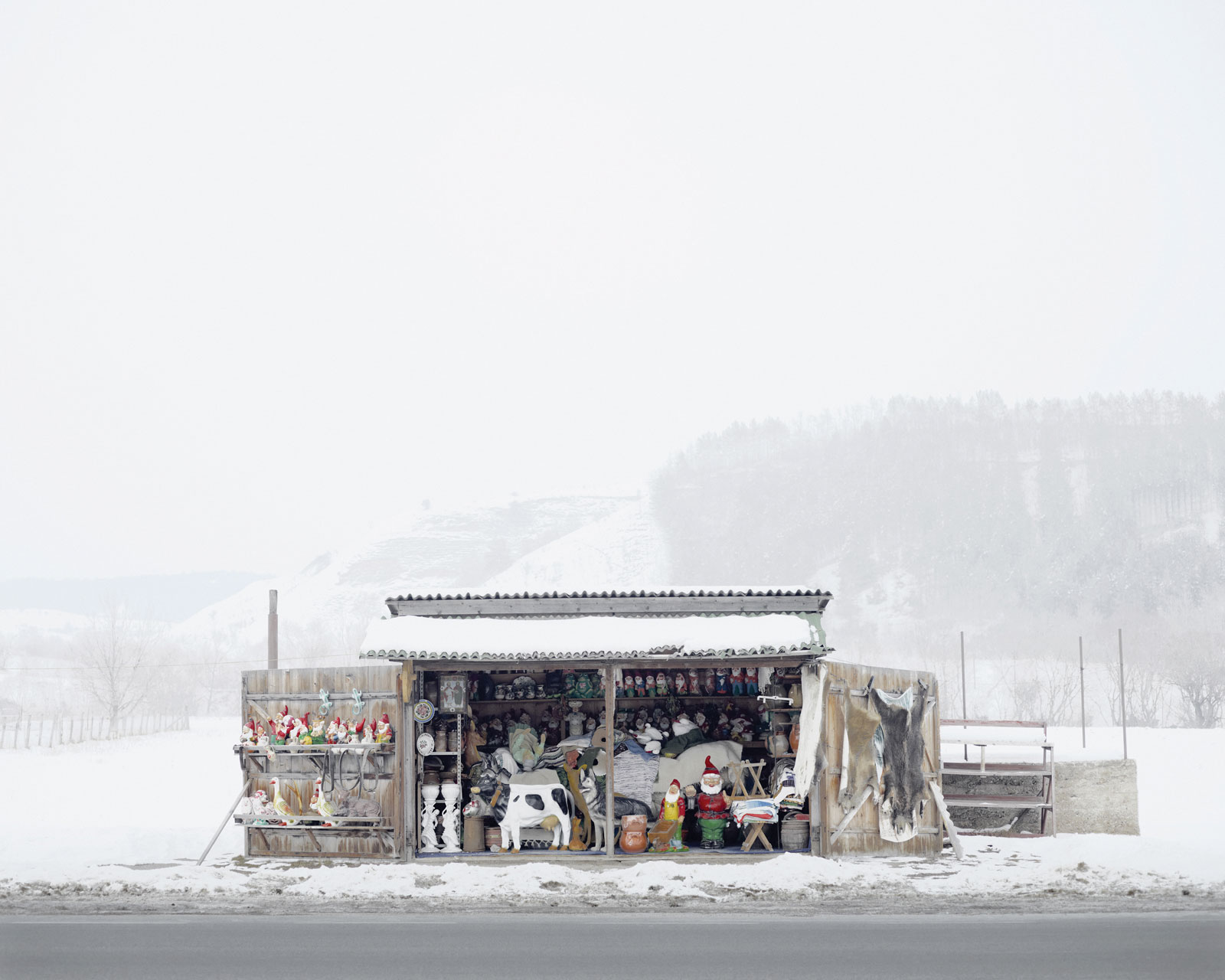 <i>Roadside Shop</i> (near Oradea, West Romania), 2012