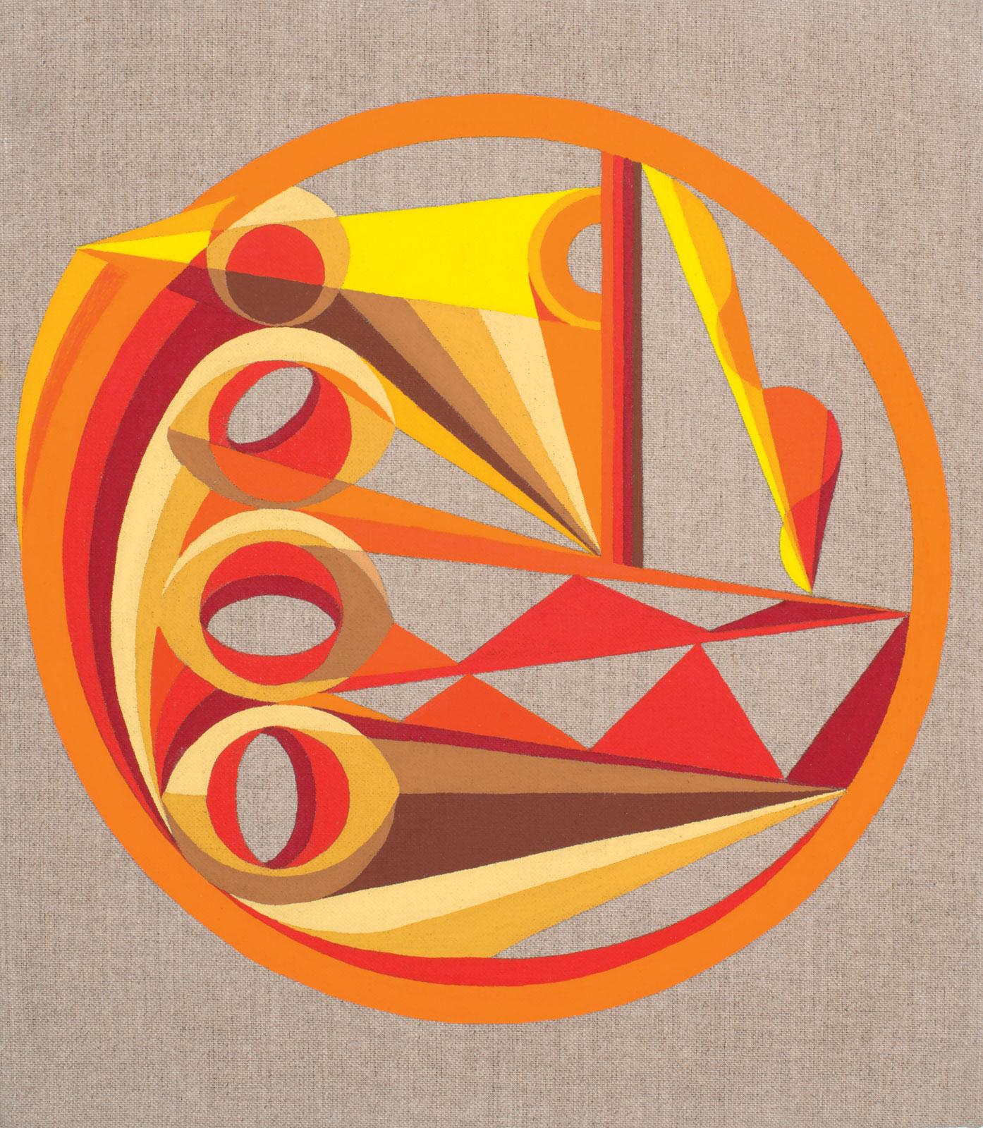 <i>Desert Movements</i> (2013), 15˝ × 14˝