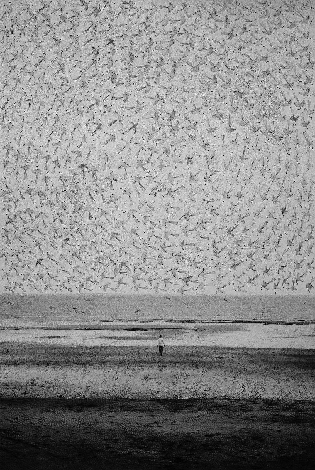 <i>The Sweet and Salty Sea</i> (2015), 62˝ × 42˝